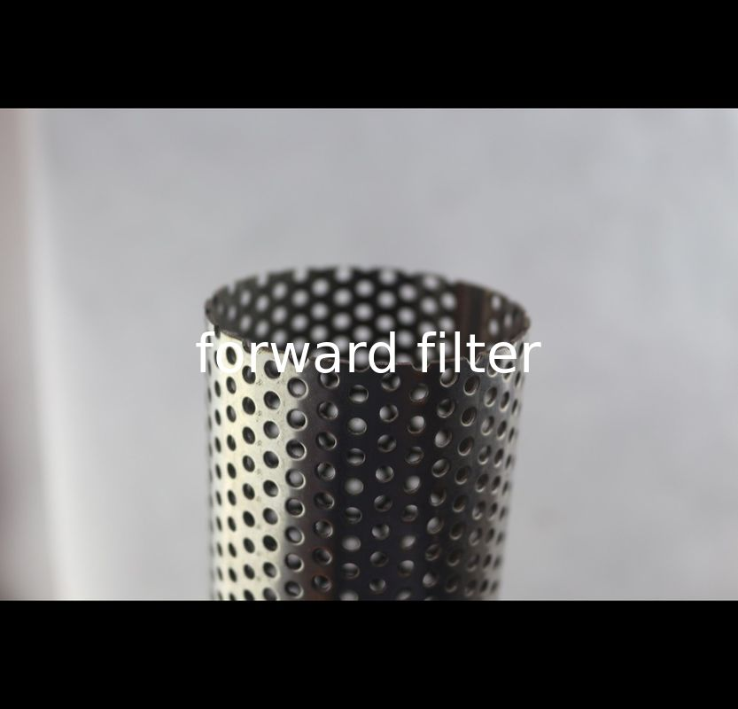 201 304 Perforated Stainless Steel Cylinder , Custom Length Perforated Steel Tube