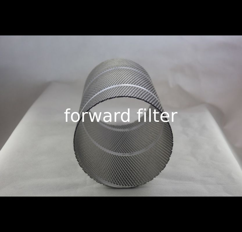 Easy Installation Perforated Stainless Steel Cylinder , Polished Perforated Stainless Tube