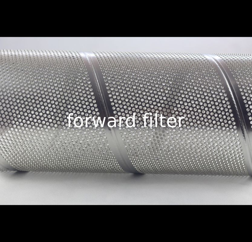 Welded Punched Tubing Perforated Cylinder Customized Metal High Pressure