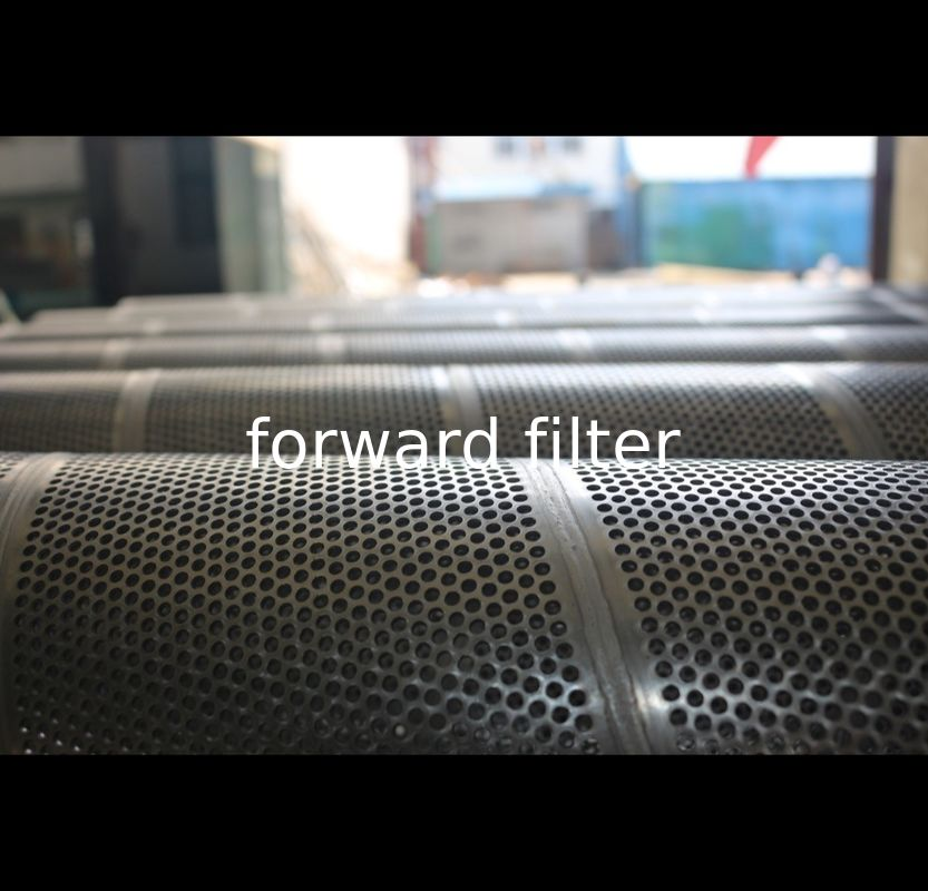 Durable Petroleum Refining Filtration Tube Round Hole Shape Thickness 0.2mm-50mm
